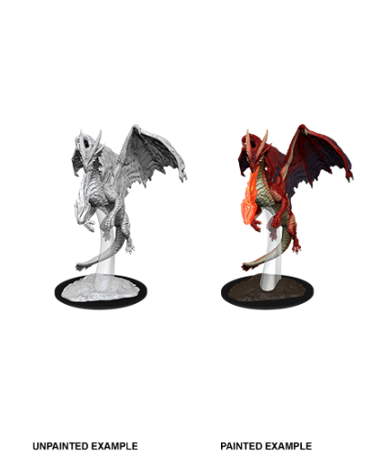 Young Red Dragon: D&D Nolzur's Marvelous Unpainted Miniatures